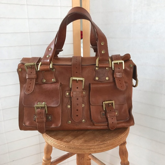 09a575ba260 Mulberry Bags | Roxanne Bag Large Toughbrown Leather Tote | Poshmark